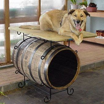 whiskey barrel dog house whiskey barrel dog house gone to the dogs pinterest