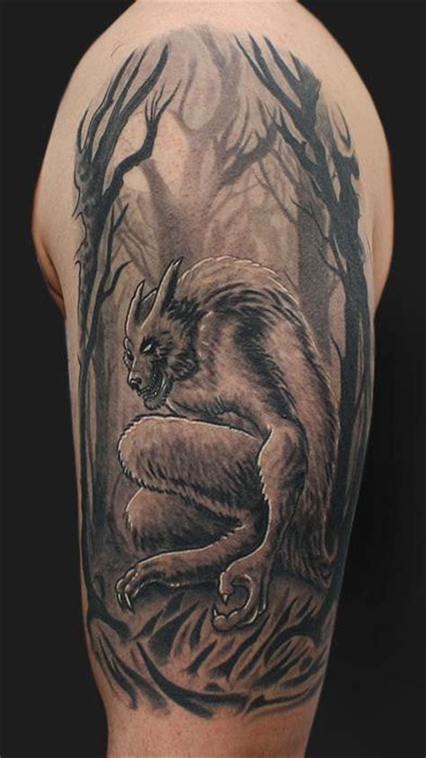 werewolf tattoos by daniel chashoudian tattoonow