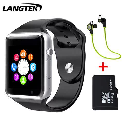 LANGTEK Bluetooth Smart Watch A5 Sport WristWatch Support SIM TF Card Intelligent Bracelet For