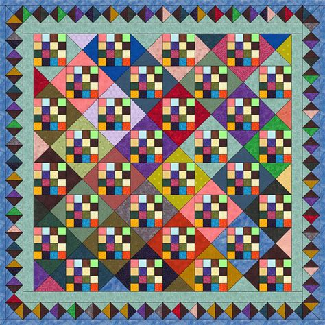 16 patch quilts sewing for