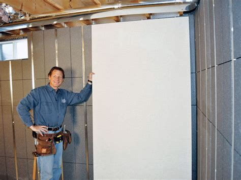 removable basement wall panels insulating basement wall with thermaldry basement wall system