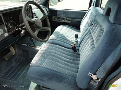 K1500 Interior by Blue Interior 1994 Chevrolet C K K1500 Regular Cab 4x4