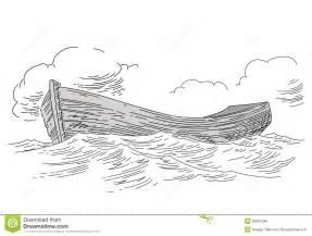 tekening van boot stock afbeeldingen afbeelding 23031264