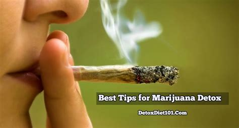Marijuana Detox Tips by Detox Archives Detox Diet 101