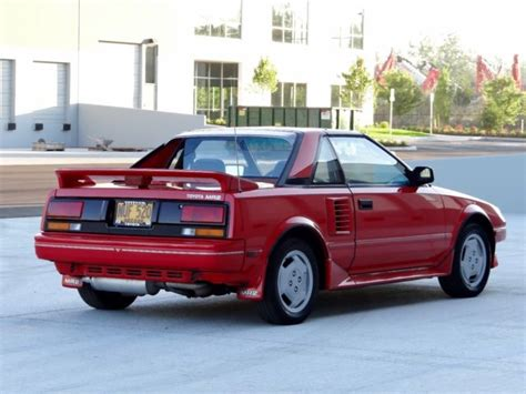 car owners manuals for sale 1987 toyota mr2 parking system 1987 toyota mr2 t bar 2d coupe 95 000 original miles 2 owners classic toyota mr2 1987 for sale