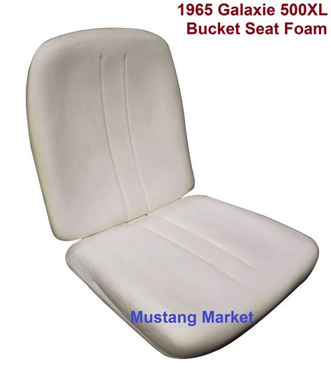seat foam top and bottom galaxie 1964 ford parts