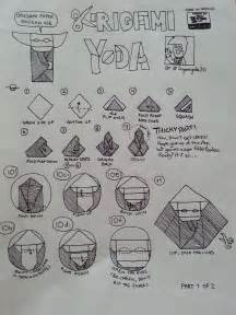 How To Fold The Cover Origami Yoda - how to fold the cover origami yoda 28 images cover