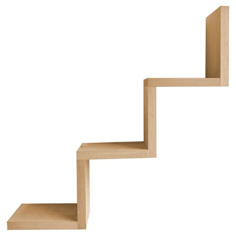 set of two zig zag shelf wall units be fabulous