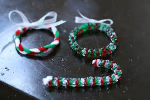 fun crafts n things christmas craft bead and pipe