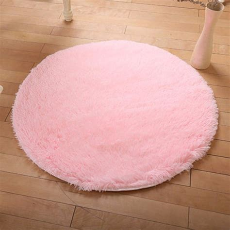 fluffy area rugs shaggy fluffy rugs anti skid area rug room home bedroom carpet floor mat ebay