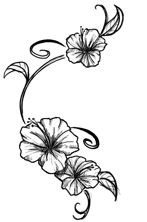 flowers tattoo by kupo nut89 on deviantart