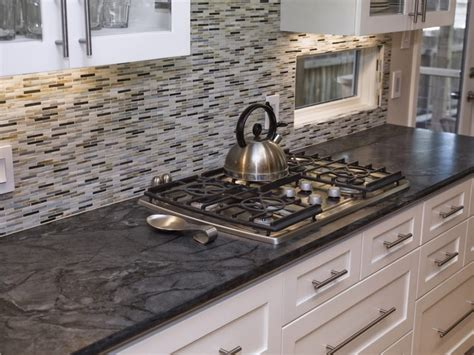 kitchen granite and backsplash ideas black granite countertops and kitchen backsplash ideas