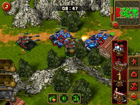 ea's 'command & conquer: red alert' and 2k games