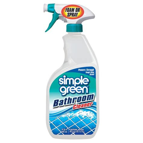 simple green bathroom cleaner simple green 32 oz stainless steel cleaner 3500000118300