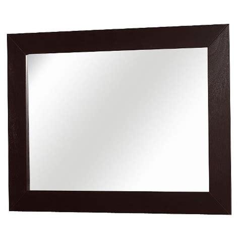 mirror target dresser mirror espresso target
