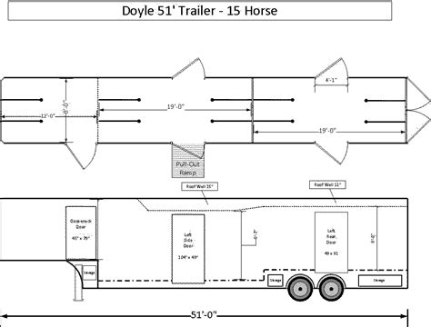 15 doyle trailer floor plans doylemanufacturing