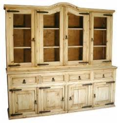 Rustic pine cupboard rustic china cabinets and hutches by indeed