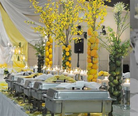 buffet decoration ideas 355 best images about lemon lime on yellow weddings pink lemonade cupcakes and floral