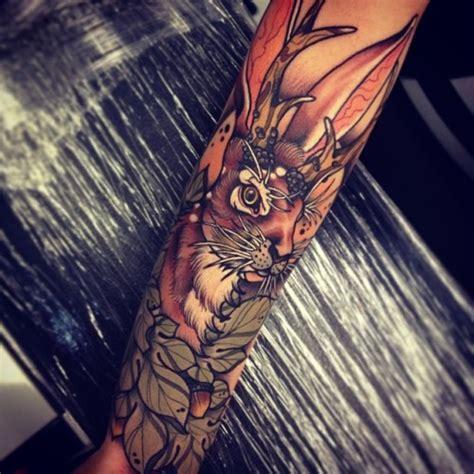 jackalope tattoo portland jackalope