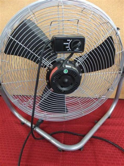 aloha breeze floor fan lot detail aloha breeze 20 quot fan