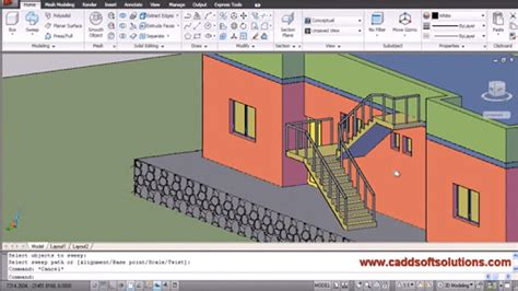 autocad 3d house modeling tutorial 4 3d home design floqq video course modeling a house with autocad 3d