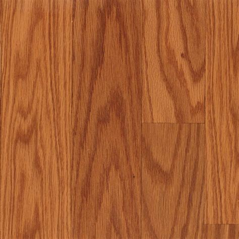 shop allen roth embossed oak wood planks sle butterscotch oak at lowes com