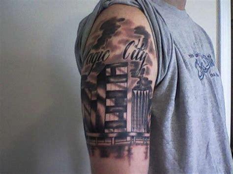 houston skyline tattoo miami skyline