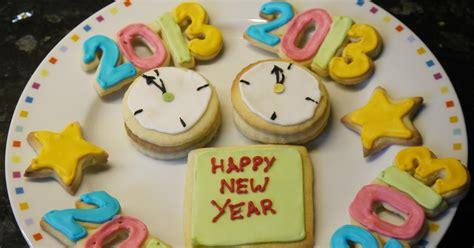new year nestum cookies heron s crafts january sugar cookies new year s