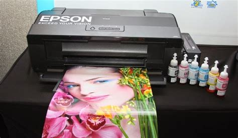 Printer Epson A3 6 Warna Printer Epson L Series L1300 A3 Connexindo