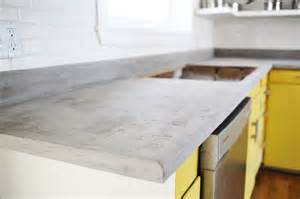 Easy To Do Backsplash - concrete countertop diy a beautiful mess