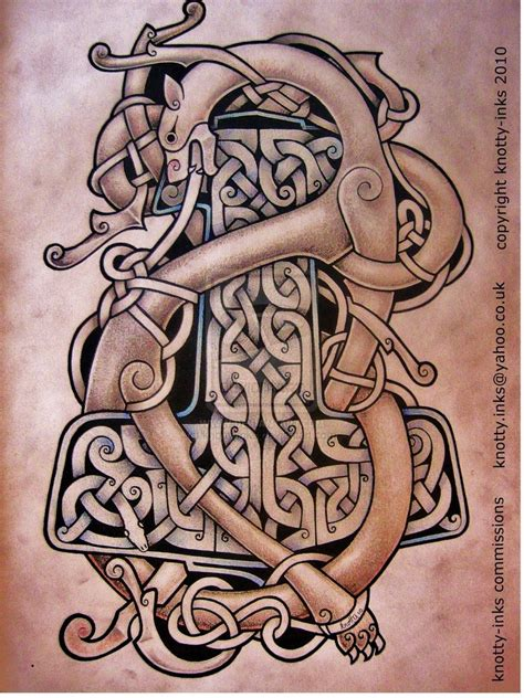 celtic art tattoo designs celtic design by knotty inks on deviantart