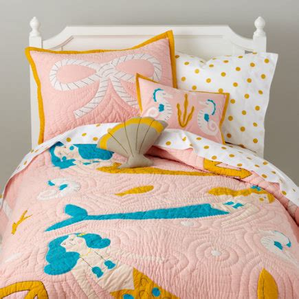 mermaid bedding twin girls bedding kids room decor