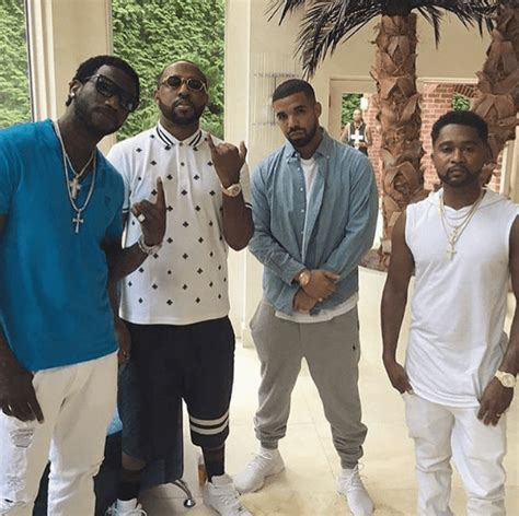 gucci mane house photos drake paid a visit to gucci mane s house today hwing
