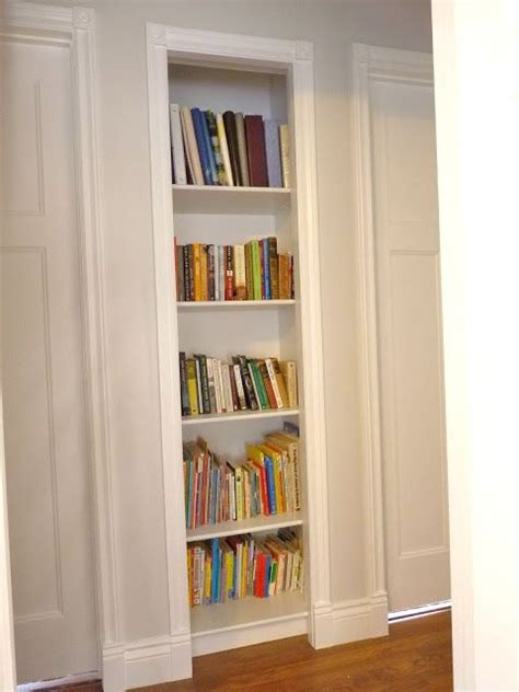 Closet Bookshelves by 1000 Ideas About Small Linen Closets On Linen