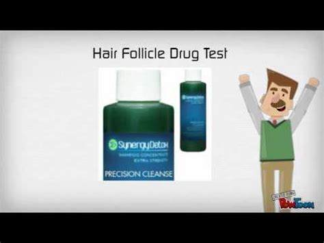 Hair Test Detox by Hair Follicle Shoo
