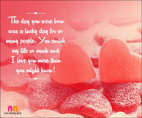 Lovely Birthday Quotes To Your Loved Ones Birthday Love Quotes 48 Quotes Straight From The Heart