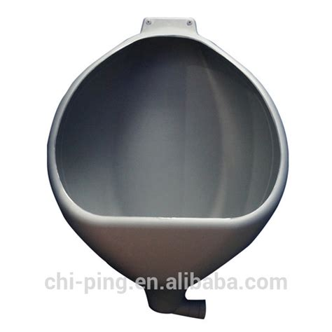 Acrylic Urinoir plastic hdpe wall mount for portable toilet plastic