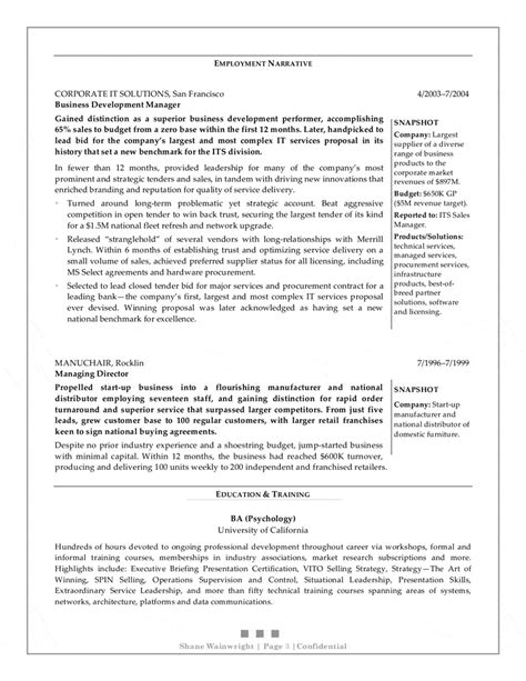 Resume Sle Business Development Executive Order Custom Essay Cv Sle Business Development Executive
