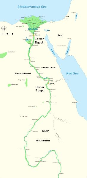 nile river on a map trade in ancient trade