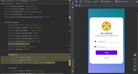 membuat aplikasi form login android studio