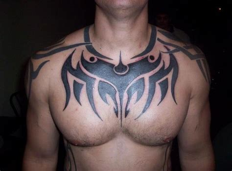 tribal chest tattoos for men chest tribal picture
