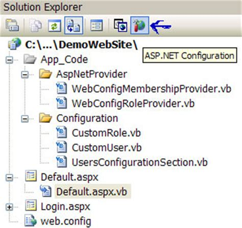 configuration section les concepteurs artistiques asp net web config custom