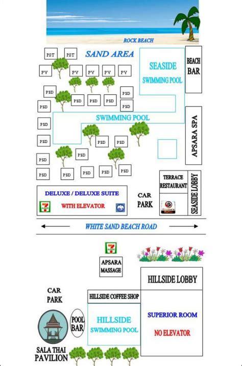 hotel reservation layout resort layout koh chang hotel resort chang buri resort