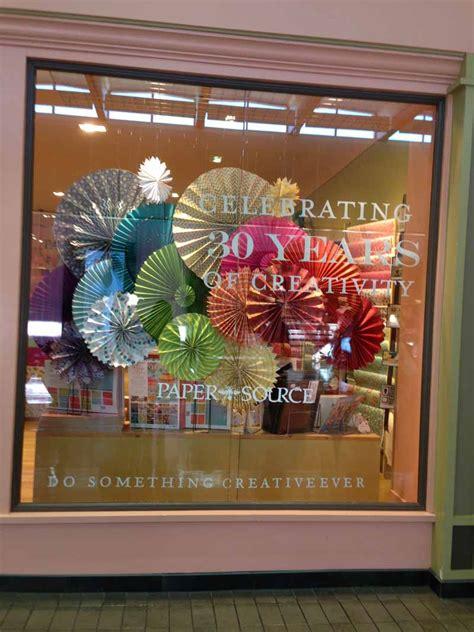 Paper Course - store windows in dallas paper source store windows at