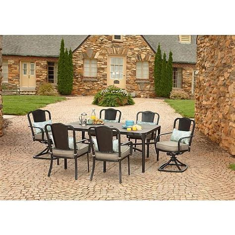 la z boy outdoor charlotte 7 piece dining set limited 22 best images about la z boy outdoor 2014 on pinterest