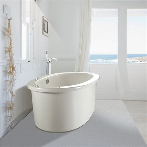 Oval Bathroom Sinks Mti Adena 7 Freestanding Bathtub