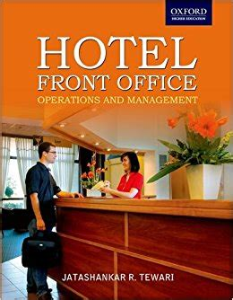 Front Desk Operations by Hotel Front Office Operations And Management It