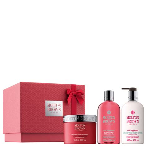 Suncare Whitening Pink molton brown the pink pepper trio buy mankind