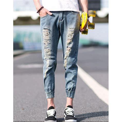 Celana Senam 78 Model Sobek jual celana jogger model sobek
