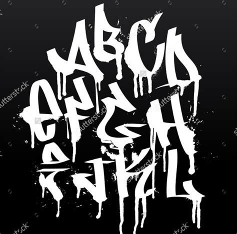 graffiti alphabet styles  psd eps format